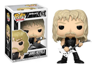 Figura Funko Pop Rock Metallica - James Hetfield