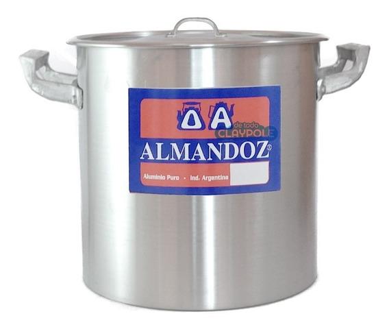 Olla Gastronómica Aluminio Reforzado N°28 - 16 Lts