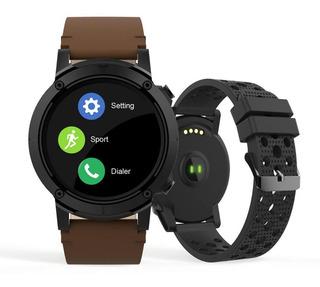 Relógio Smartwatch Seculus Masculino Gps Marrom79004g0svnv2