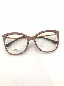 ce04b6f5c Oculo Grau Gatinho Chanel Nude - Óculos no Mercado Livre Brasil