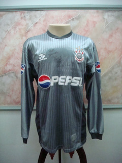 Camisa Futebol Corinthians Sp Topper Jogo Antiga 2061