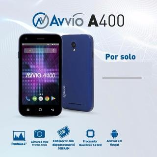 Telefono Avvio A400 Android Cámara Redes Sociales Memoria