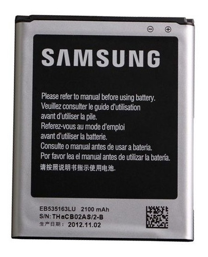 Samsung Galaxy Grand Duos Y I9082 Mega I9150 Bateria Envios