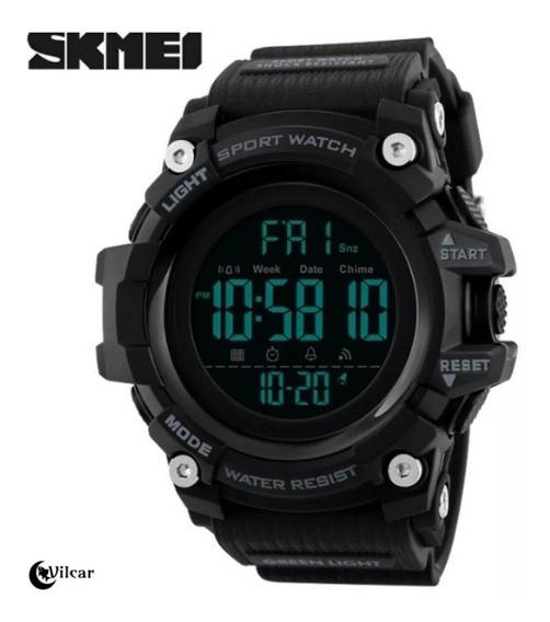 Relógio Skmei Led Esportivo Prova D´agua Original Militar