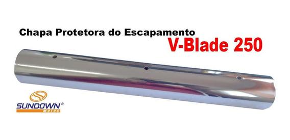 Chapa Protetora Do Escapamento Sundown V-blade 250 Original