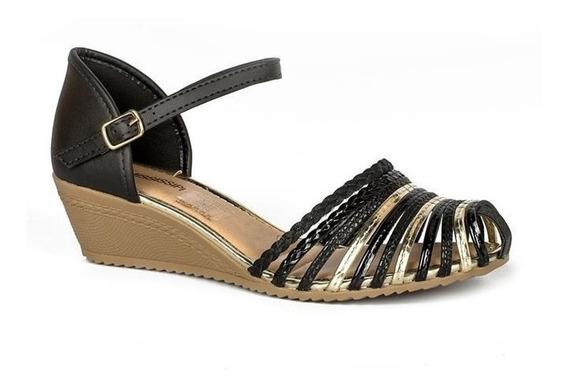 Sandálias Feminina Salto Baixo Mississipi X8462 Promoção
