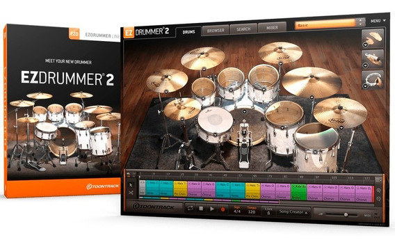 Ezdrummer 2 (serial Download) - Número De Série Genuíno