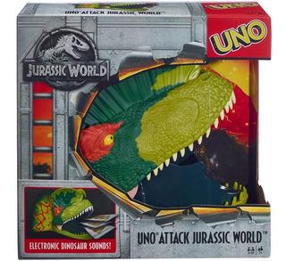 Uno Ataque Jurassic World - Mattel Games