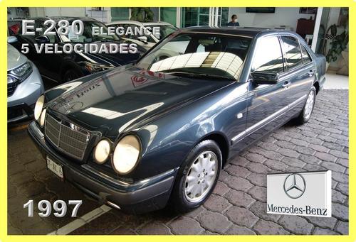 Imagen 1 de 15 de Mercedes Benz E-280 Elegance 1997. 5 Velocidades. Impecable.