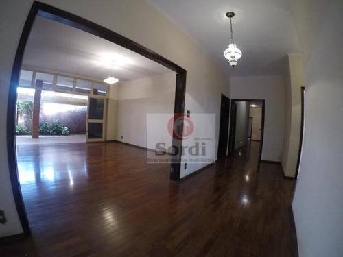 Casa Com 3 Dormitórios Para Alugar, 375 M² Por R$ 16.000,00/mês - Jardim Sumaré - Ribeirão Preto/sp - Ca2978