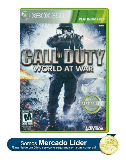 Call Of Duty: World At War Xbox 360 Orginal