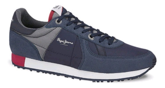 Zapato Casual Pepe Jeans Original Azul 2692906
