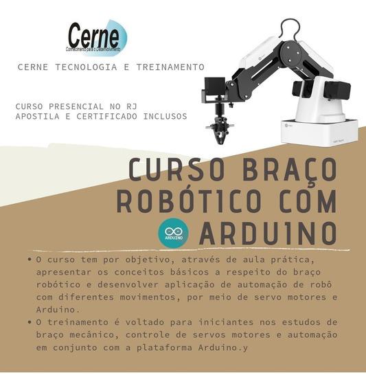 Arduino Aula: Braço Robótico - Centro Rio De Janeiro