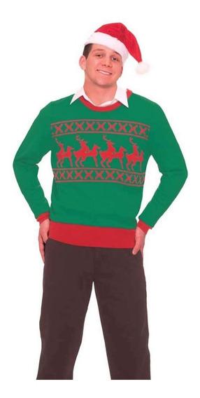 Suéter Navideño Retro Navidad Feo Ugly Sweater Xmas Grande
