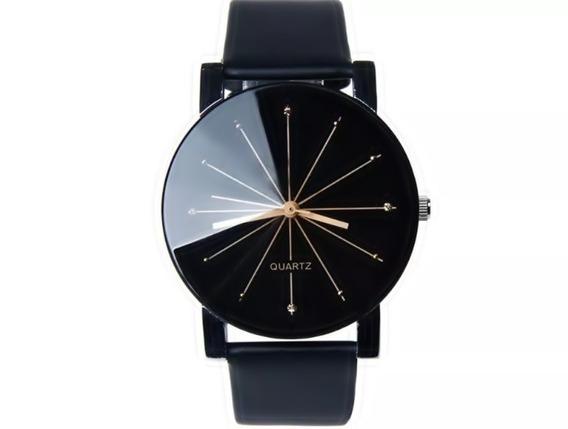 Relógio Feminino De Couro Fashion Super Promoção