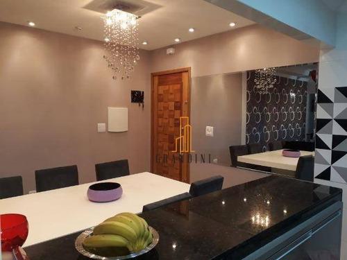 Imagem 1 de 28 de Cobertura Com 4 Dormitórios À Venda, 180 M² Por R$ 1.018.000,00 - Campestre - Santo André/sp - Co0119