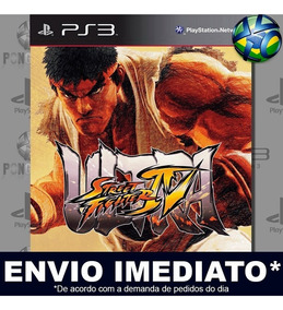 Ultra Street Fighter Iv 4 Ps3 Mídia Digital Psn Promoção