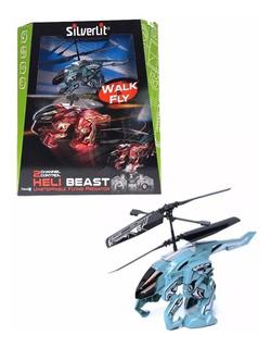 Robot Bestia Con Helicoptero Radio Control R/c Heli Beast