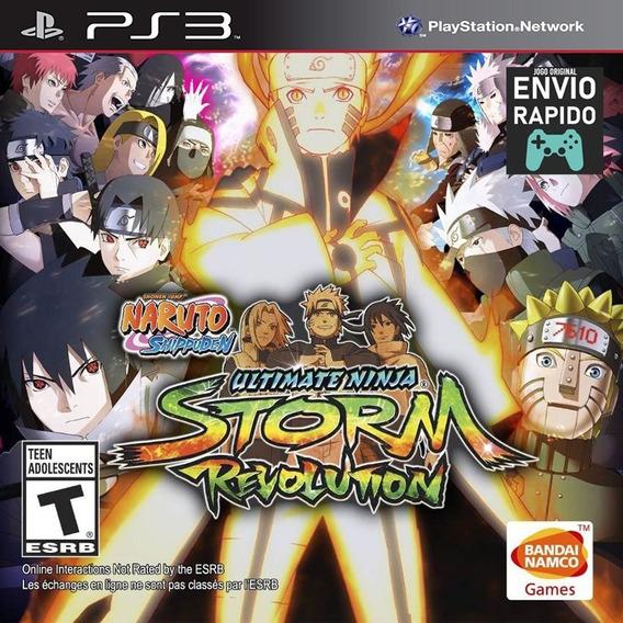 Naruto Ultimate Ninja Storm Revolution Portugues - Jogos Ps3