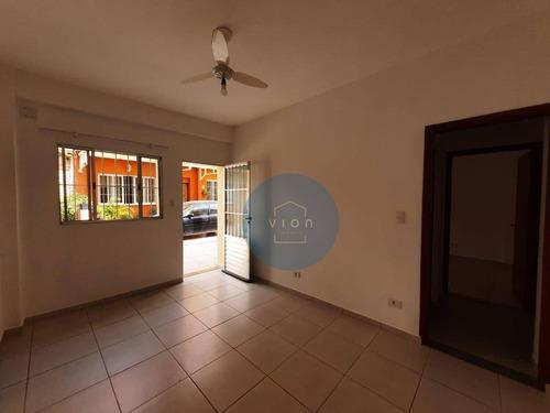 Imagem 1 de 16 de Casa De Vila Com 1 Dormitório Em Perdizes - Ca0018