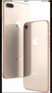 iPhone 8 Plus Gold (64gb) 7 Meses De Uso! Caja Y Accesorios