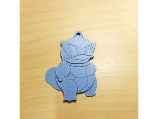 Chaveiro Squirtle Pokemon 5 Unidades Gamer