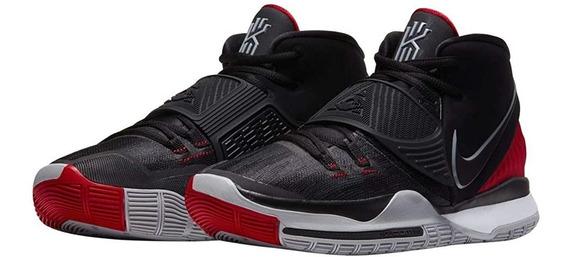 Nike Kyrie 6 Preto Bred - 41