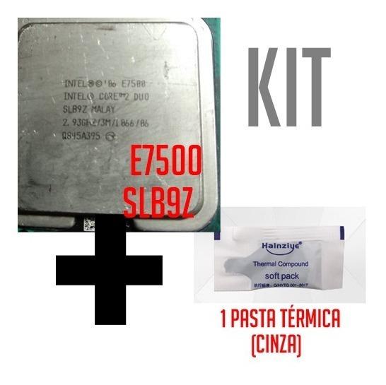 Proc. Core 2 Duo E7500 Slb9z 2.93ghz 775