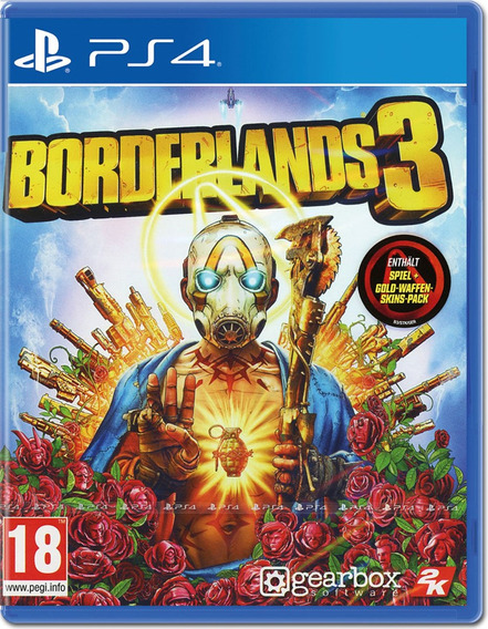 Jogo Borderlands 3 Ps4 Disco Fisico Dvd Original Português