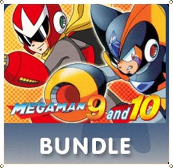 Mega Man 9 E 10 Combo Pack Bundle Ps3 Envio Rápido