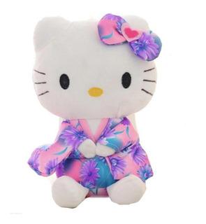 Hello Kitty Felpa Lindo Peluche Animado Kimono