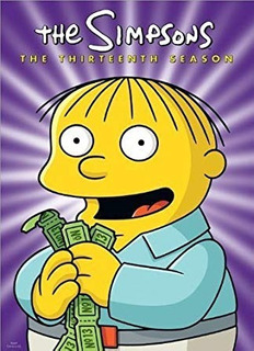 The Simpsons Temporada 13 Dvd Original Version Eeuu