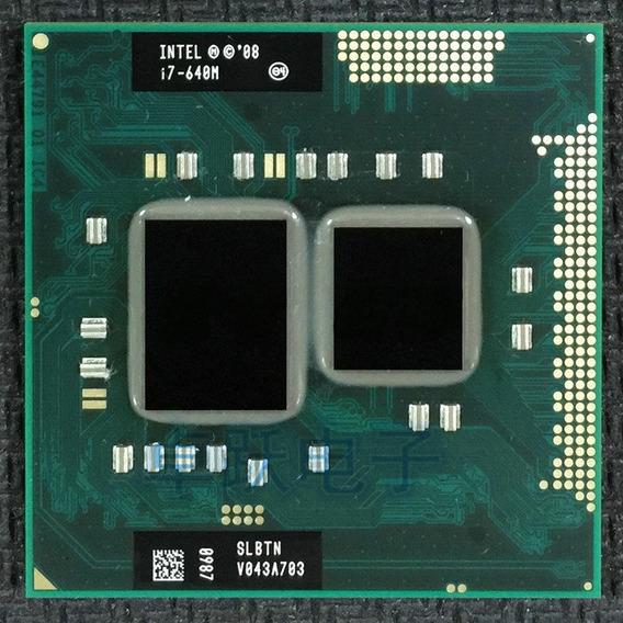 Intel Core I7-640m