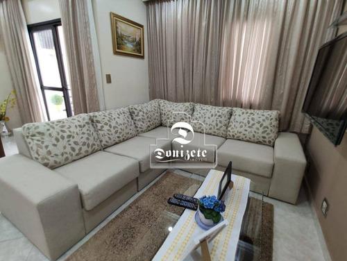 Cobertura Com 3 Dormitórios À Venda, 140 M² Por R$ 747.000,00 - Santa Maria - São Caetano Do Sul/sp - Co11106