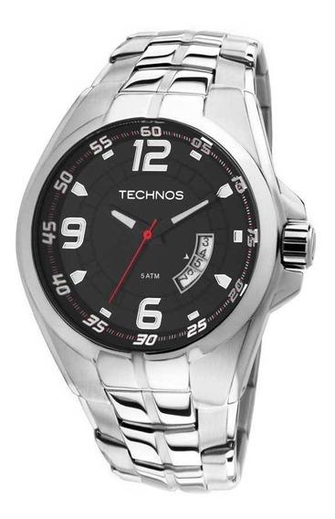 Relógio Technos Prateado Masculino Racer 2115ksw/1r