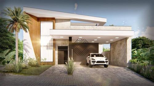 Casa À Venda, 176 M² Por R$ 950.000,00 - Condomínio Ibiti Reserva - Sorocaba/sp - Ca7348