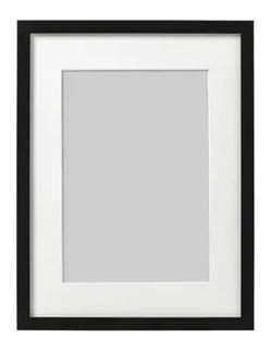 Marco Para Diploma A4 Con Vidrio Borde Negro