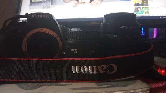 Canon T6 Lente 18-55 Mm & 50mm 1.8 Canon + Sd 64gb