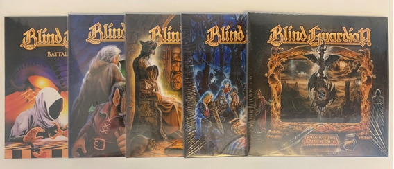 5 Lps Picture Disc - Blind Guardian Somewhere Far Beyond