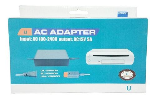 Fuente De Poder Nintendo Wii U - Consola 220v - Residentgame