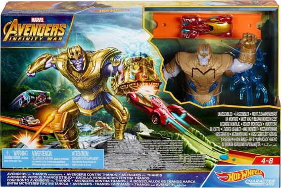 Hot Wheels Avengers Vs Thanos Original Nueva Marvel Tienda