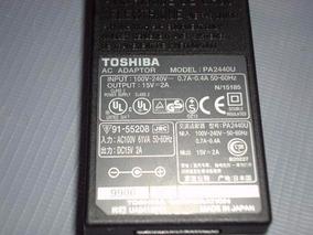 Carregador P/ Notebook Toshiba Pa2440u 15v 2a