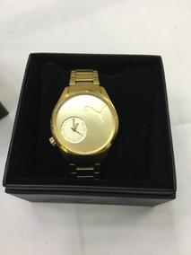 Relógio De Pulso Feminino Puma Original Dourado