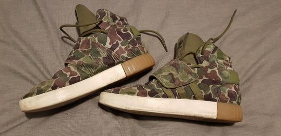 Zapatillas adidas Tubular Invader Camufladas Originales Usa