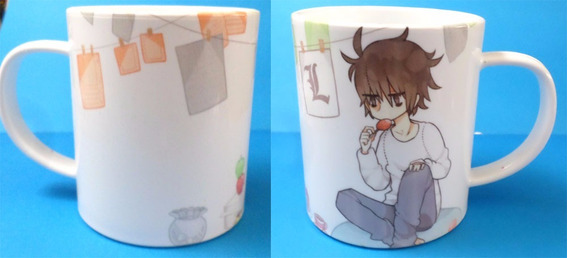 Taza De Anime De Death Note L Chibi Fandomo