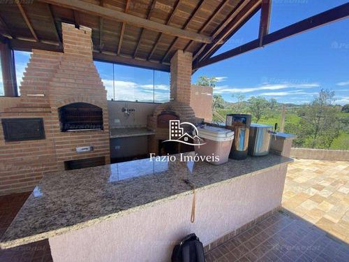 Casa Alto Padrão Com 4 Dormitórios, 480 M² - Venda Por R$ 2.200.000 Ou Aluguel Por R$ 6.500/mês - Chácaras Cataguá - Taubaté/sp - Ca0021