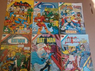 Batman Serie Aguila Editorial Novaro Mexico 1980-1984