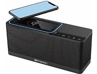 Emerson Alarma Portatil Con Radio Fm Altavoz Bluetooth Ester