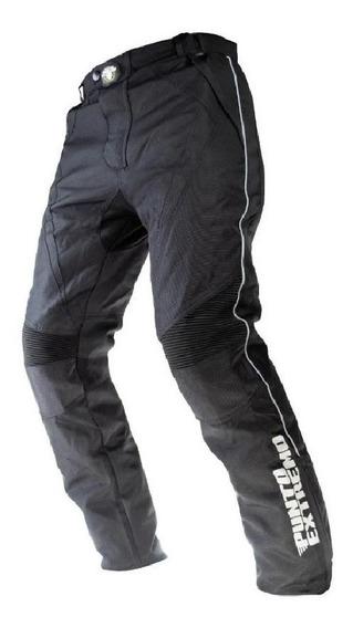 Pantalon Moto Cordura Proteccion Punto Extremo Mas X Moto