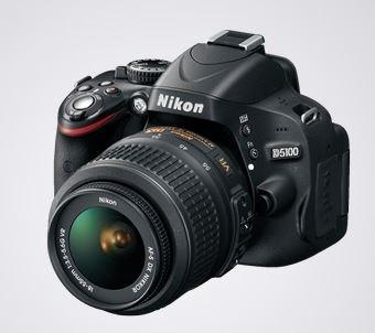 Câmera Digital Nikon D5100 E Lente Nikkor 18-55mm